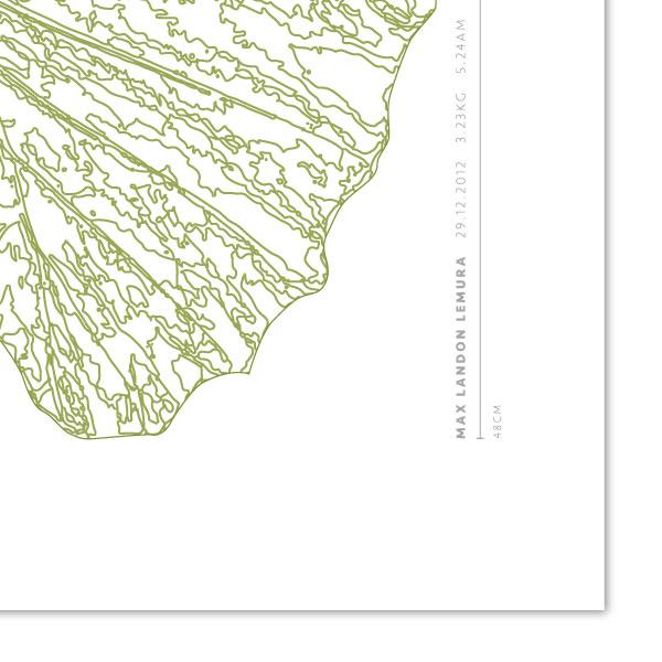 Euphoria-House-Botanical-Custom-Birth-Print-Baby-Elephant-Ear-closeupname